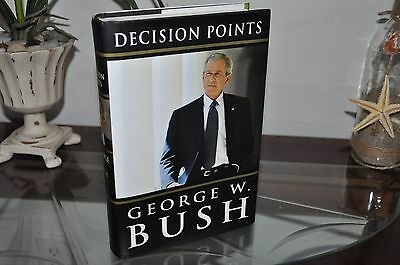 Autographed bookplate  George W. Bush book, Decision Points