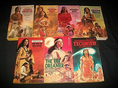 Lot of 7 Books by Paul Joseph Lederer, Western Fiction