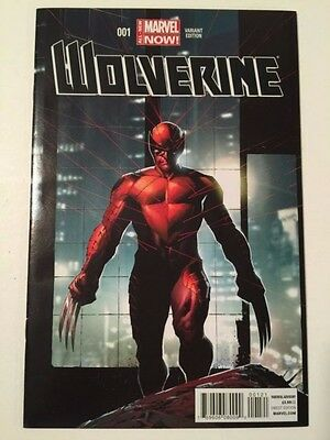 Wolverine #1 1:50 2014 Opena All New Marvel Now Variant Cover Ship's Next Day
