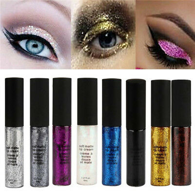 Protable Sparkling Glitter Liquid Eyeliner Eye Party Makeup Colorful Eye Liner