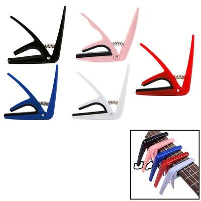Durable Ukulele Tune Quick Change Capo Key Clamp High Quality