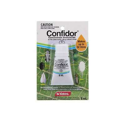 Yates Confidor Garden Insecticide Concentrate 8ml Makes up to 32L
