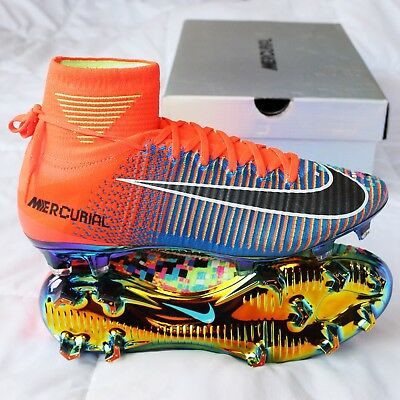 new styles ac364 d605e LIMITED NIKE MERCURIAL Superfly V SE FG EA Sports (Size 8 US)