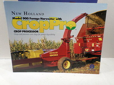 New Holland Brochure Model 900 Forage Harvester w CropPRO