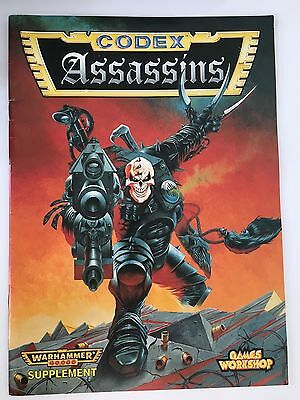 Warhammer 40,000 Assassins Codex 2nd edition
