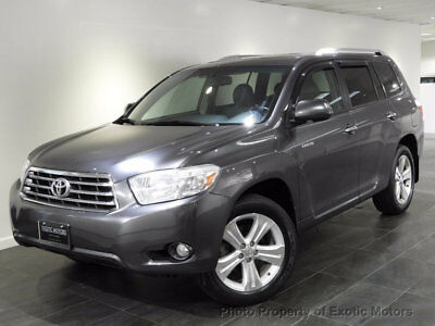 2010 Toyota Highlander 4WD 4dr V6  Limited 2010 TOYOTA HIGHLANDER LIMITED AWD NAV REAR-CAMERA 3RD-ROW HEATED-SEATS MOONROOF