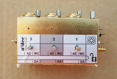 A-dec 300 Delivery System Control Block 3 Position