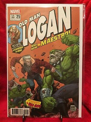 Old Man Logan (2015) #25 1:10 Grummett Homage Variant Cover