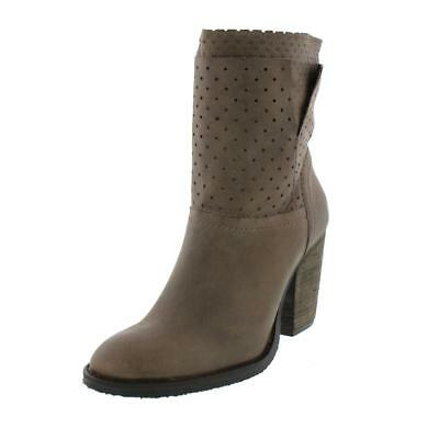 Steven By Steve Madden 6777 Womens Taupe Ankle Boots Shoes 10 Medium (B,M) BHFO