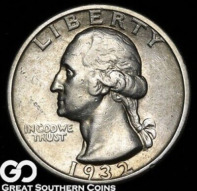 1932-S Washington Quarter, Well Sought After Key Date, ** Free Shipping!