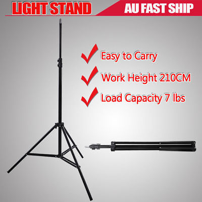 210CM PRO Light Stand Photo Studio Video Lighting Support For Softbox Umbrella