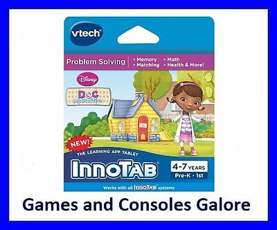 New!! Vtech InnoTab 3s and 2 Doc McStuffings Educational Game and E-Book