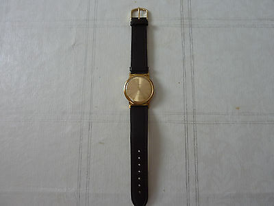 Laco Electric Uhr Watch ähnl. Ruhla Electric 24 Karat Gold Plated
