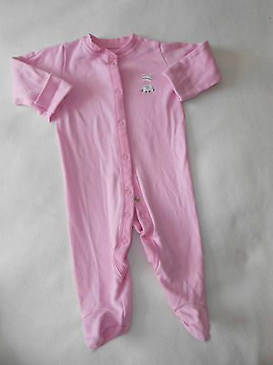 Baby Girls Clothes 3-6 Months - Pretty  BabyGrow Sleepsuit