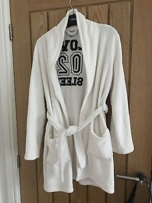 Girls New Look Dressing Gown - Size L
