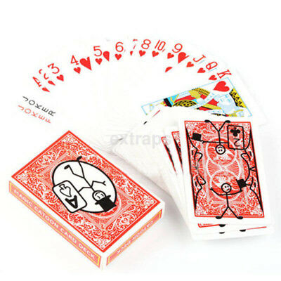 New Cartoon Deck Pack Playing Card Toon Magic Trick Animation Prediction Ca