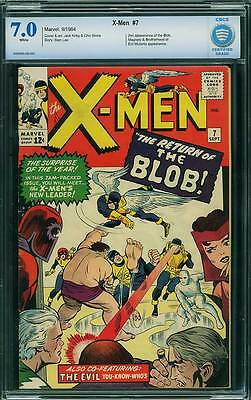 X-Men # 7  The Return of the Blob !  CBCS 7.0 scarce book !