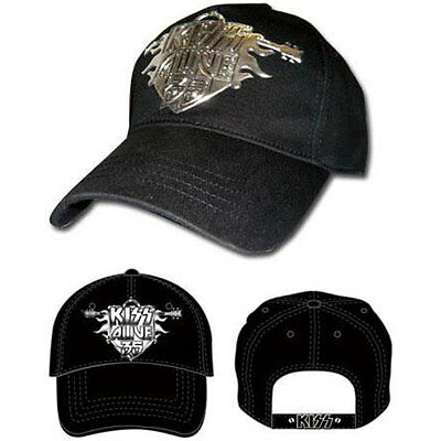 Kiss - Alive 35 Cotton Baseball Cap - New & Official With Tag