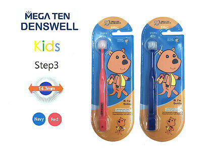 MEGA TEN DENSWELL Kids Step 3 Toothbrush (Red)1P