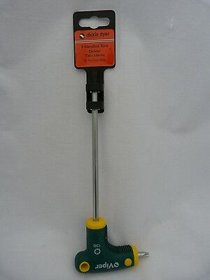 "Dickie Dyer ""T"" Handled Torx Driver T30x 150mm"