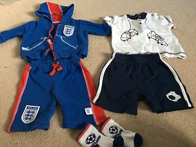 Baby Boys England Bundle 0-3 And 3-6 Months