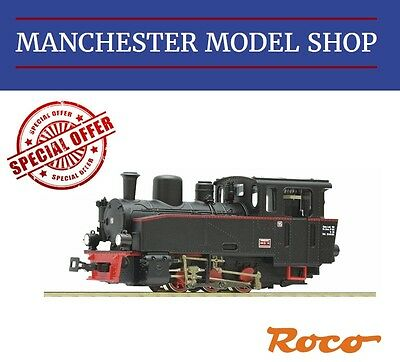 "Roco HOe 009 1:87 baureihe BR99 Narrow gauge steam locomotive ""DCC SOCKET"" NEW"