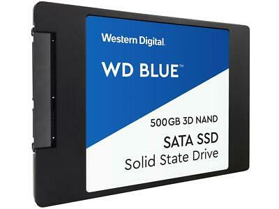 "WD Blue 3D NAND 500GB Internal SSD - SATA III 6Gb/s 2.5""/7mm Solid State Drive -"