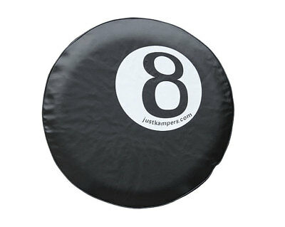 Just Kampers 8 Ball Wheel Cover