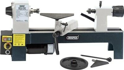 Draper 60988 250W 230V Variable Speed Mini Wood Lathe