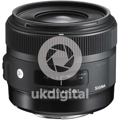 Sigma 30mm f1.4 DC HSM Art Lens for Canon