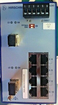 HIRSCHMANN RAIL SWITCH rs30-08020606SDHUHH