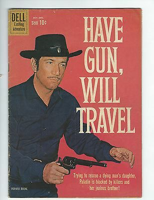 Dell Have Gun Will Travel #7 (Vg) (Richard Boone Photo Cover)