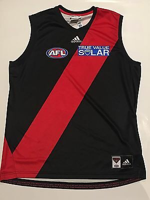 Essendon Bombers 2013-14 Adidas home guernsey XL BRAND NEW