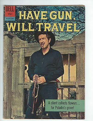 Dell Have Gun Will Travel #14 (Vg) (Richard Boone Photo Cover)