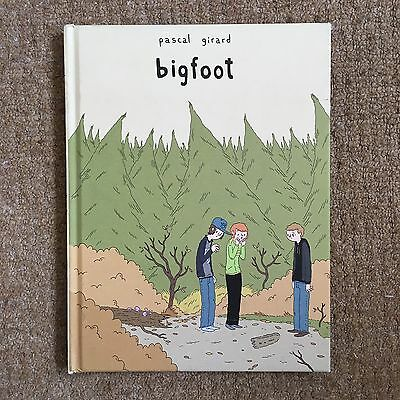 Pascal Girard 'Bigfoot' Hardback Graphic Novel (Comic, 2010, English)