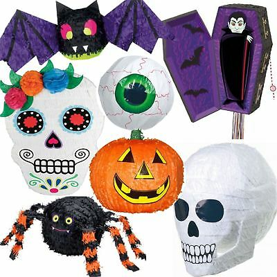 Halloween Pinata Game Hanging Decorations Party Prop Witch Bat Pumpkin Spooky