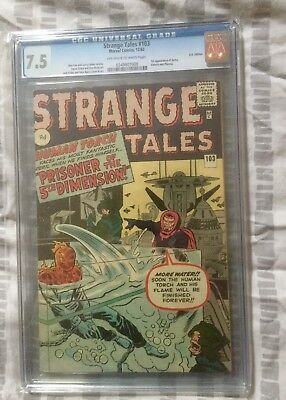 Strange Tales Issue 103: 1962 - CGC 7.5