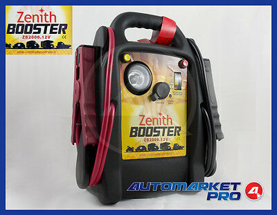 Booster Avviatore Professionale Zenith Zb2000.12V Batterie Auto Camion Starter