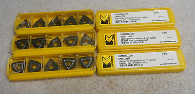 KENNAMETAL    CARBIDE  INSERTS    WNMG 433 RP     KCP10        6 packs of 5