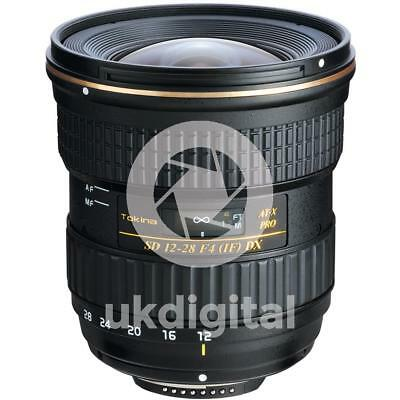Tokina AT-X 12-28mm F4 PRO DX lens - CANON EF