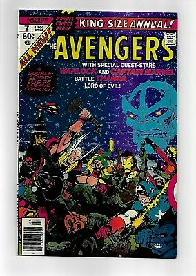 Avengers King-Size annual #7 1977 VF/VF+