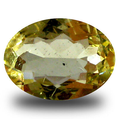 0.85 ct AAA Magnificent fire Oval Shape (8 x 6 mm) Yellow Heliodor Beryl