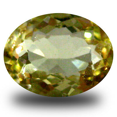 1.03 ct AAA Great looking Oval Shape (8 x 6 mm) Yellow Heliodor Beryl Gemstone