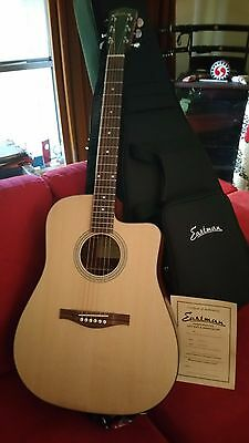 Eastman AC120CE Cutaway Acoustic/Electric Guitar