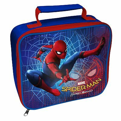 Spiderman 'Homecoming' School Premium Lunch Bag Insulated Brand New Gift