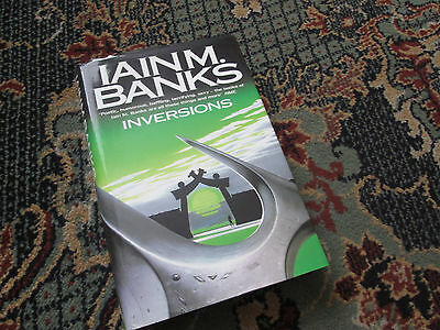 Iain M Banks INVERSIONS Hardback First Edition 1998 signed with notes ? (maybe)