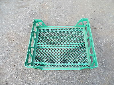 Bakery Rack Bread Cookie Tray Stacking Plastic Commercial Green 20@ 150.00