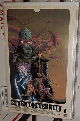 Bundle: Seven to Eternity # 1 Cover A 2nd & Variant Cover B 1st