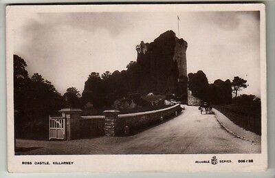 Co. Kerry - Killarney, Ross Castle - Real Photo Postcard 1910
