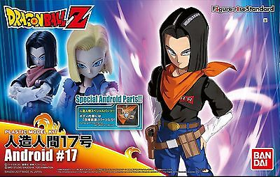 Bandai Hobby Figure-Rise Standard Dragon Ball Z Android 17 Model Kit USA SELLER